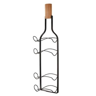 Crabill Metal 4 Bottle Wall Mounted Wine ..