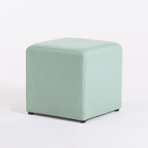 Ackermann Cube Footstool Ottoman by Varick Gallery