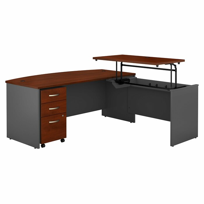 pretty nice e9daf 4fa33 Series C Height Adjustable L-Shaped Standing Desk