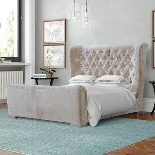 Review Freya Kingsize (5') Upholstered Platform Bed