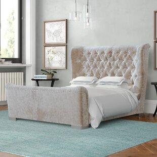 Freya Kingsize (5') Upholstered Platform Bed By Willa Arlo Interiors