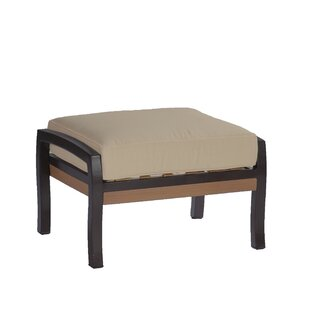 Belize Outdoor Ottoman with Cushion by Summer Classics