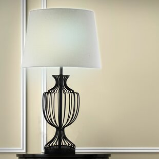 Find Lois Metal Cage 24 Table Lamp By Gracie Oaks