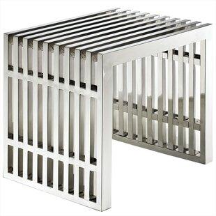 Best Renken Stainless Steel End Table ByOrren Ellis