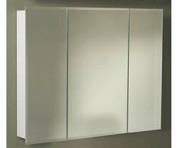 Uriel TriView 48 x 2825 Surface Mount Medicine Cabinet by Rebrilliant