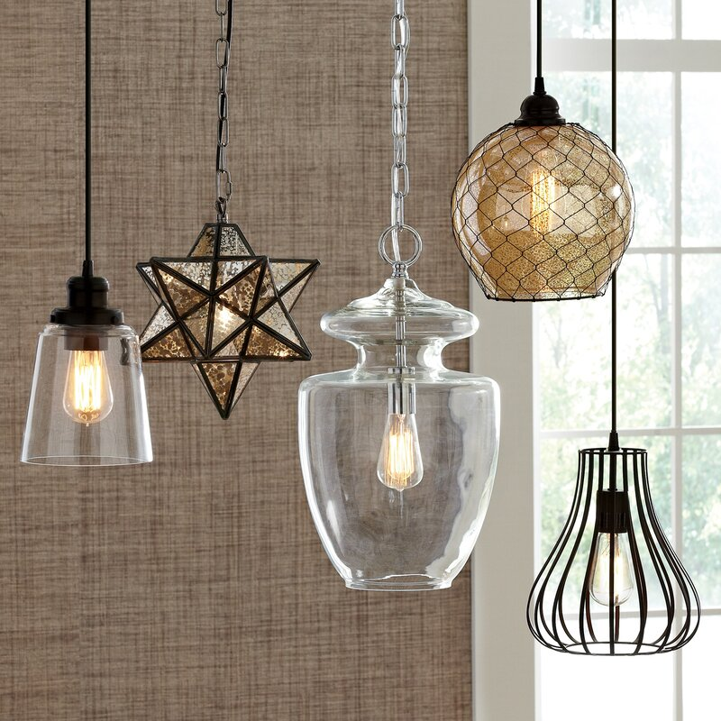 Charlton 1 light foyer pendant