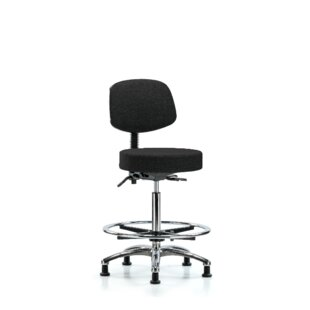 Eleanor High Bench Height Adjustable Lab Stool by Symple Stuff Best #1
