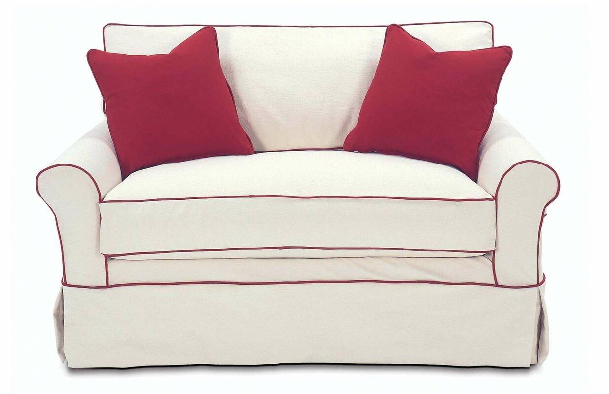 Rowe Furniture Somerset Twin Sleeper Sofa & Reviews | Wayfair