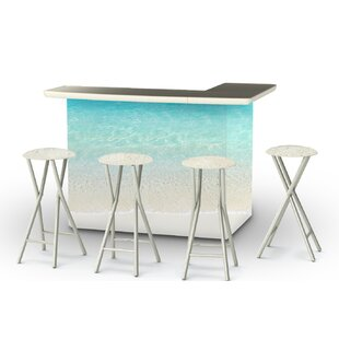 5 Piece Patio Bar Set by Best of Times