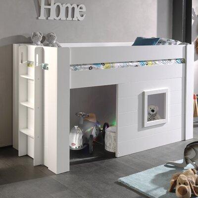 Halbhochbett Eldridge mit Leiter  90 x 200 cm | Kinderzimmer > Kinderbetten > Hochbetten | Isabelle & Max