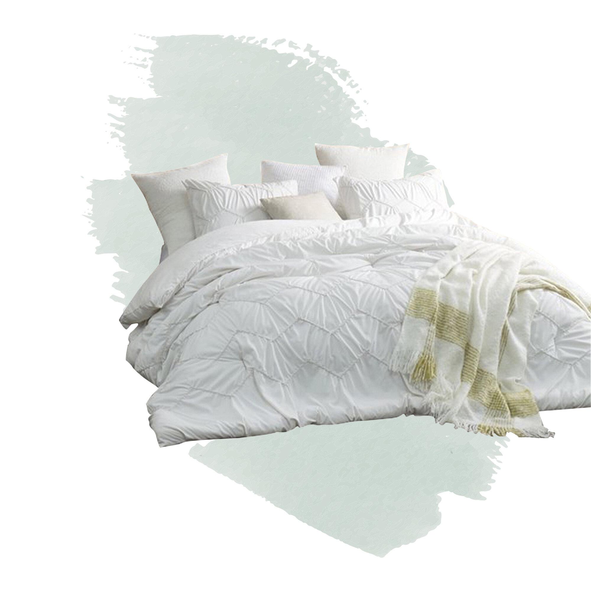 bettwaren wasche matratzen 79 99 new real simple linear duvet cover twin u pick color white aqua grey gray maybrands com ng