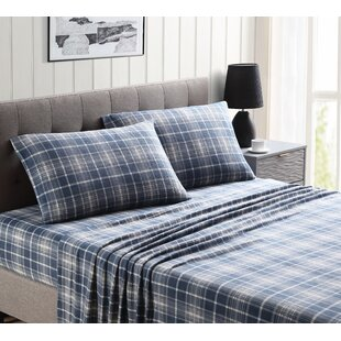 Abbey Ultra Plush Plaid Sheet Set