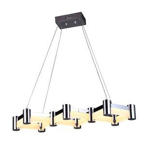 Orren Ellis Duell 3-Light LED Kitchen Island Pendant