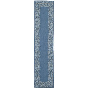 Laurel Blue/Gray Indoor/Outdoor Area Rug