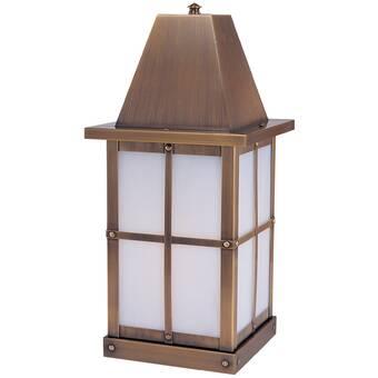 Primo Lanterns Orleans Aged Copper 27 H Hardwired Lantern Head Wayfair