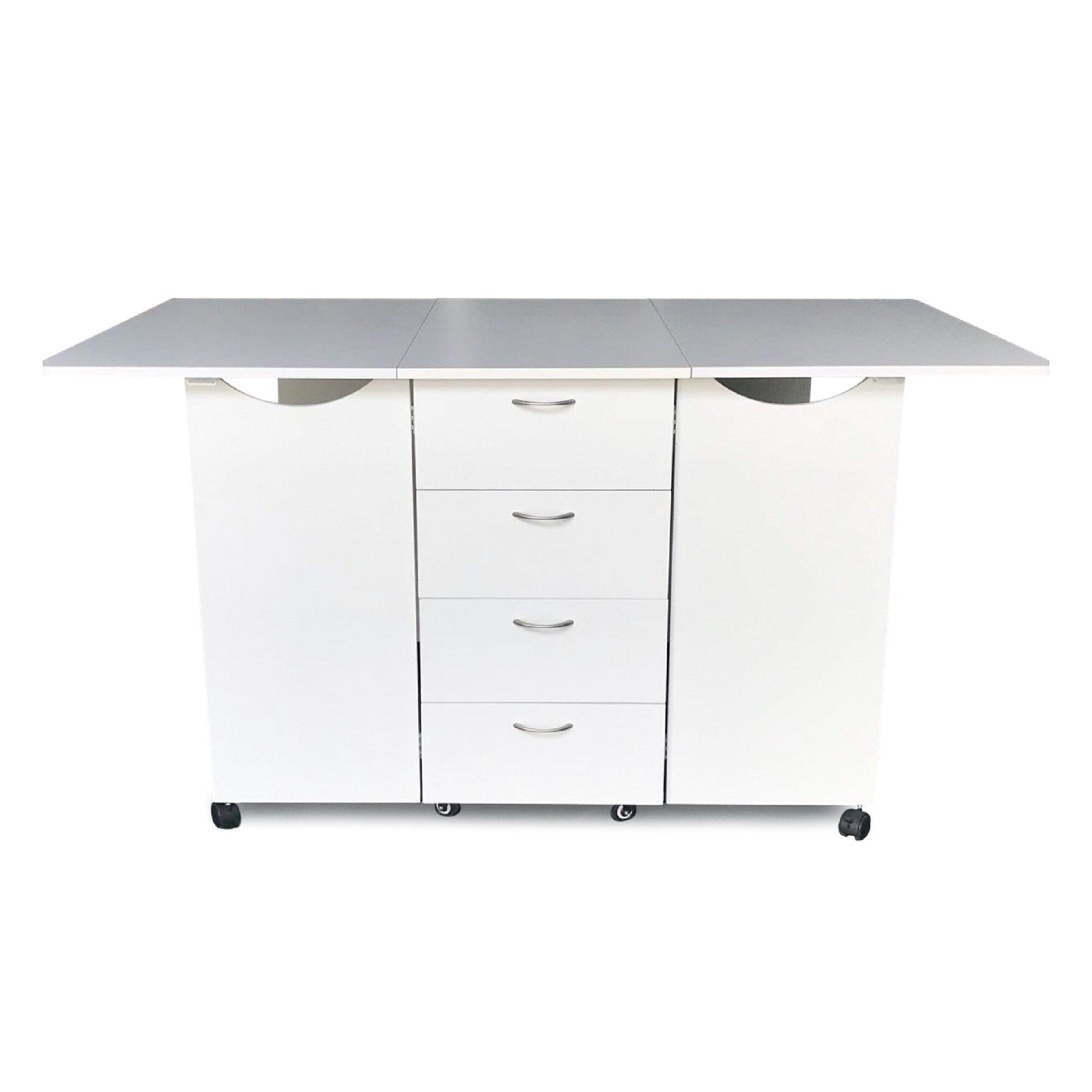 Kangaroo Cabinets 70 X 40 Foldable Crafting Storage Cabinet Wayfair