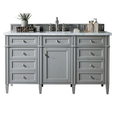 Darby Home Co Deleon 60 Inch Single Bathroom Vanity Set Top