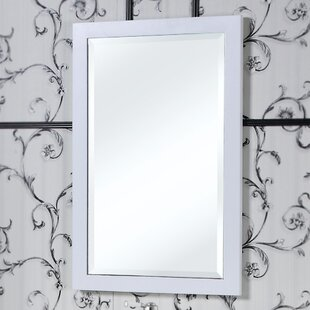 InFurniture IN 31 Series Beveled Edged Wall Mirror