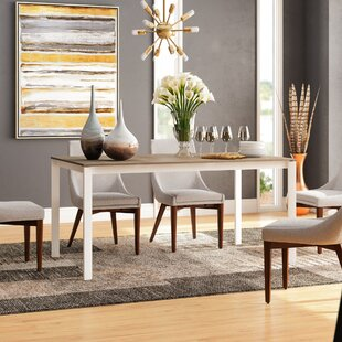 Layton Wooden Legs Extendable Dining Table