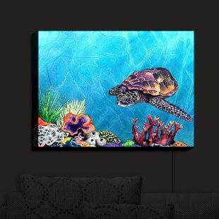 Bayou Breeze Sea Turtle' Print on Fabric