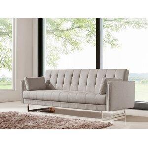 exposed wood frame sofa wayfairca - Exposed Wood Frame Sofa