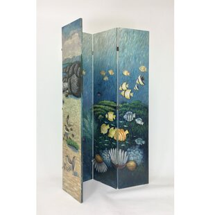Tod 4 Panel Room Divider by Darby Home Co