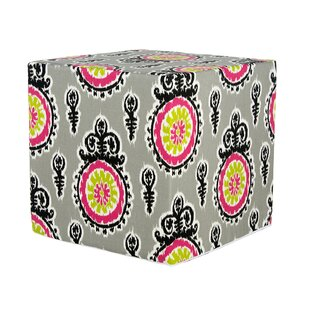 Bull Decorative Cube Ottoman by Zoomie Kids