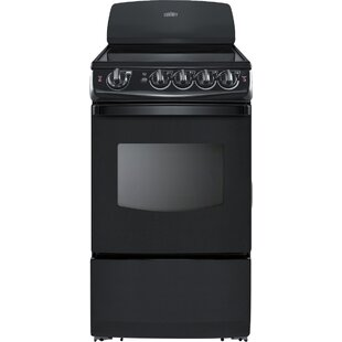 Summit 20 Free-standing Smooth-Top Electric Range by Summit Appliance