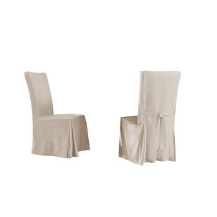 Relaxed Smooth Furniture Dining Chair Slipcover (Set of 4)