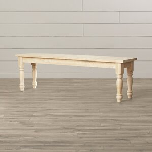 Arras Wood Bench by Lark Manor