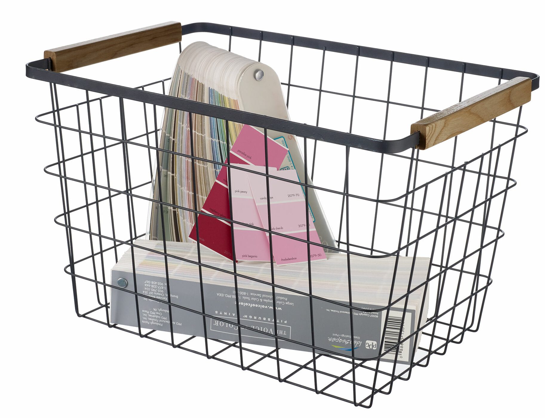 Rebrilliant Pilar Metal Basket Reviews Wayfair