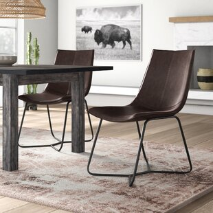 Affordable Winschoten Upholstered Dining Chair (Set of 2) by Mistana Reviews (2019) & Buyer's Guide