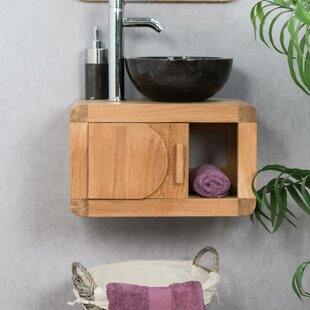 Maidste 50mm Wall Hung Single Vanity Unit By Bay Isle Home
