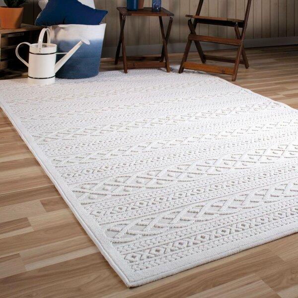Borst Ivory Indoor Outdoor Area Rug Reviews Birch Lane