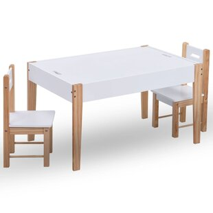 Abrahms Children's 3 Piece Table And Chair Set By 17 Stories