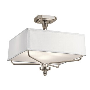 Laurence 3-Light Semi Flush Mount by Darby Home Co