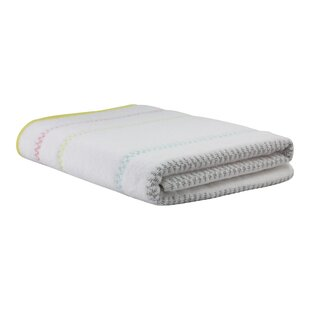 Daisetta Chevron Brights Stripe Bath Towel