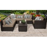 Fairfield 6 Piece Sectional Seating Group with Cushions by Sol 72 Outdoor™