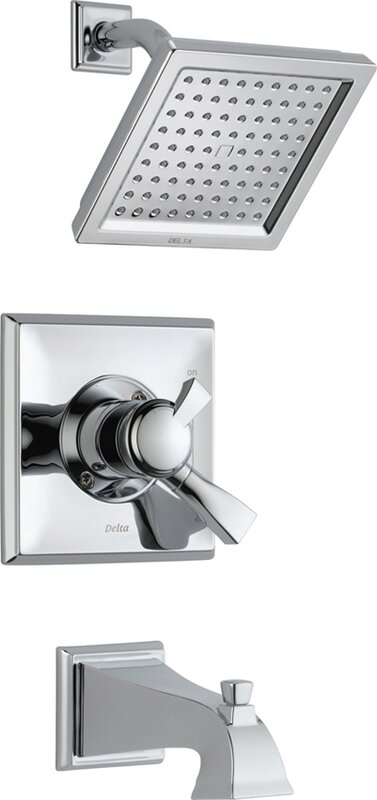 High Quality Dryden Diverter Tub And Shower Faucet With Lever Handle