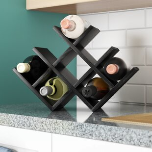 Butterfly 8 Bottle Tabletop Wine Rack by Kamenstein 2019 Online