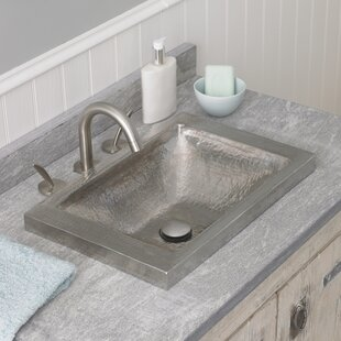 Native Trails, Inc. Hana Metal Rectangular Drop-In Bathroom Sink