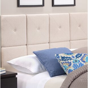 Chestercot Tiles Upholstered Panel Headboard by Hazelwood Home