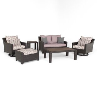 Northridge 6 Piece Sunbrella Sofa Set with Cushions