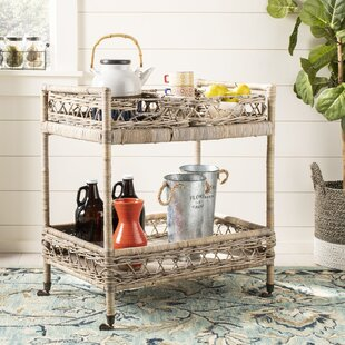 Lynn Bar Cart by Rosecliff..