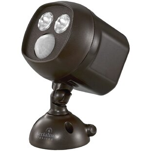 Affordable Kittel LED Outdoor Spotlight With Motion Sensor By Symple Stuff