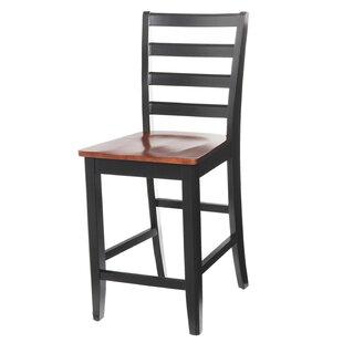 Red Barrel Studio Jesenof Solid Wood Dining Chair (Set of 4)