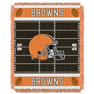 Comparison NFL Browns Field Baby Blanket By Northwest Co.