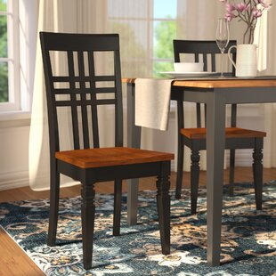 Sharonville Dining Solid Wood Dining Chair (Set of 2)