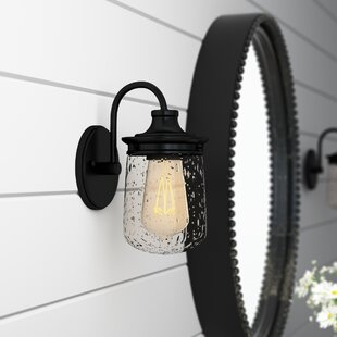 Bostwick 1-Light Bath Sconce by Laurel Foundry Modern Farmhouse