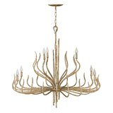 Champagne Gold Chandelier Wayfair